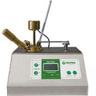 Аппарат ПЭ-ТВО полуавтоматический для определения температуры  вспышки в открытом тигле