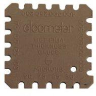 Пластиковая гребенка для измерения толщины мокрого слоя Elcometer 154