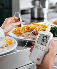 Термометр Testo 108 водонепроницаемый с возможностью подключения зондов типа Т и К