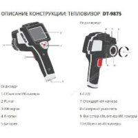 Тепловизор CEM DT-9875 промышленный