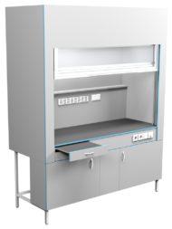 Шкаф вытяжной без сантехники ШВ НВК 1800 ПЛАСТ (1800x716x2200)