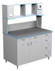 Стол пристенный для работы стоя СЛП НВК 1200 МОН (1218x700x1650)
