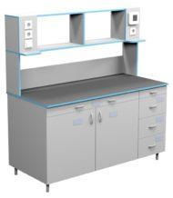 Стол пристенный для работы стоя СЛП НВК 1500 КГ (1500x700x1650)