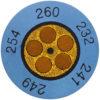 Круглые термоиндикаторы testoterm - измерительный диапазон +88 … +110 °C (0646 0073)
