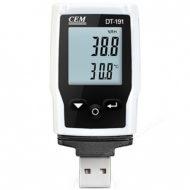 Логгер температуры и влажности CEM DT-191A — бесконтактный влагомер